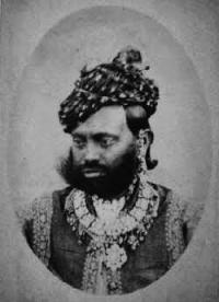 H.H. Raja Duleh Singhji of Sailana