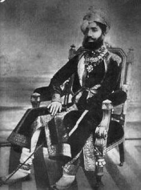 H.H. Raja Jaswant Singhji of Sailana