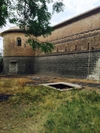 Walls of Sailana Palace