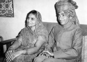 Kumar Sahib Shri Narendrasinhji Govindsinhji Jadeja of Sajjanpur