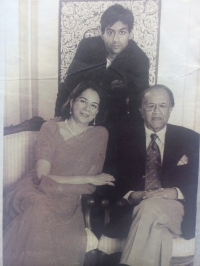 Rani Shefali Singh, Prince Samar Singh and Maharaja Narendra Singh