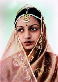 Maharajkumari Raj Shree Devi [Thakorani Raj Shree Sevi of Sayla]