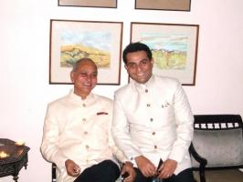 Maharajkumar Jairaj Singh Deo & Rajkumar Rajvikram Singh Deo of Seraikella