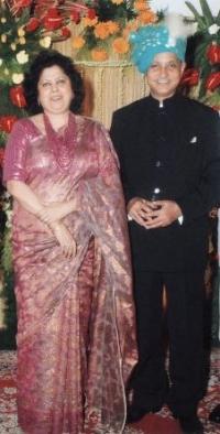 Maharajkumar Jairaj Singh Deo & Rani Sahiba Ruponanda Devi of Seraikella