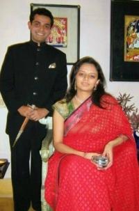 Rajkumar Rajvikram Singh Deo & Rajkumari Sahiba Ambica Kumari Devi of Seraikella