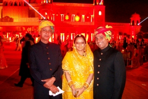 Maharjkumar Jairaj Singh Deo, Rajkumar Rajvikram Singh Deo & Rajkumari Ambica Kumari Devi of Seraikella