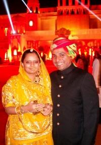 Rajkumar Rajvikram Singh Deo & Rajkumari Ambica Kumari Devi of Seraikella