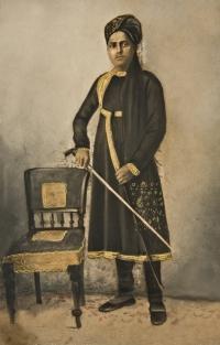 Raja Udit Narayan Singh in his younger days