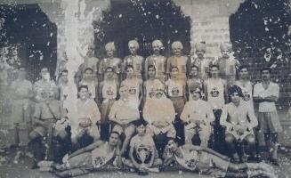 IG Bakhtawar Singh Kolu, Thakur Bahadur Singh Sindarli and Marwad football team