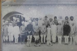Thakur Mukund Singh Chanoud, Thakur Chiman Singh Chanoud, Thakur Bahadur Sngh Sindarli, Thakur Madho Singh Sindarli, Thakur Rawat Singh Sindarli, Thakur Salim Sinh Guda Mangliya, Thakur Sajjan Singh Sindarli