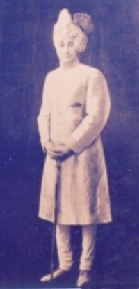Lt. HH Maharaja RAJENDRA PRAKASH Bahadur
