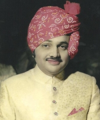 Raj Rajeshwar His Highness Maharajadhiraj Maharao Raghubir Singhji Saheb Bahadur