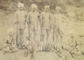 Thakur Saheb Shri Roop Singh ji (second from left)