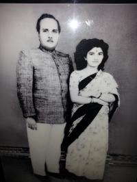 Late Raja Saheb Kirti Chandra Deo & Rani Saheba Soubhagaya Manjari Devi