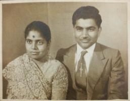 Rao Rajendra Singh Ji with wife Kiran Devi Ji