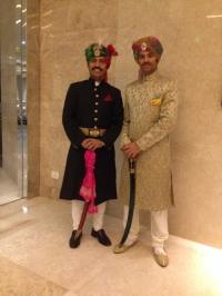 Rajkumar Suryavir Singh Idar & Rajkumar Vishweshwar Saran Singh Deo