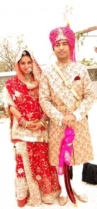 Rajkumari Gitanjali Kumari Singh Deo married to Rajkumar Shri Suryavir Singh Idar