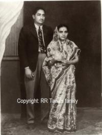 Raj Rana Hari Singhji and Rani Marudhar Kanwar of Tana