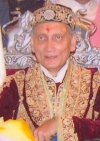 HH Maharaja MANUJENDRA SHAH Sahib Bahadur