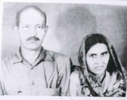Thakur Sahab Jagjeet Singh Ji with wife Bittan Bai Sa