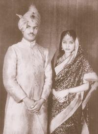 Raja Saheb Brijendra Singh Ju Deo & Rani Sahiba Reoti Kumari