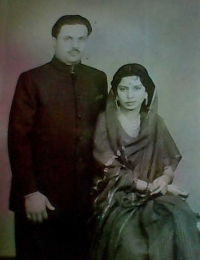 Raja Saheb Brijendra Singh Ju Deo and Rani Saheba Revati Kumari