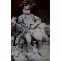 Raja Saheb Raghuraj Singh Ju Deo as a child
