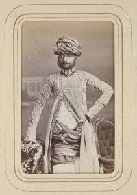 Portrait of Raja Saheb Bane Singh Ji