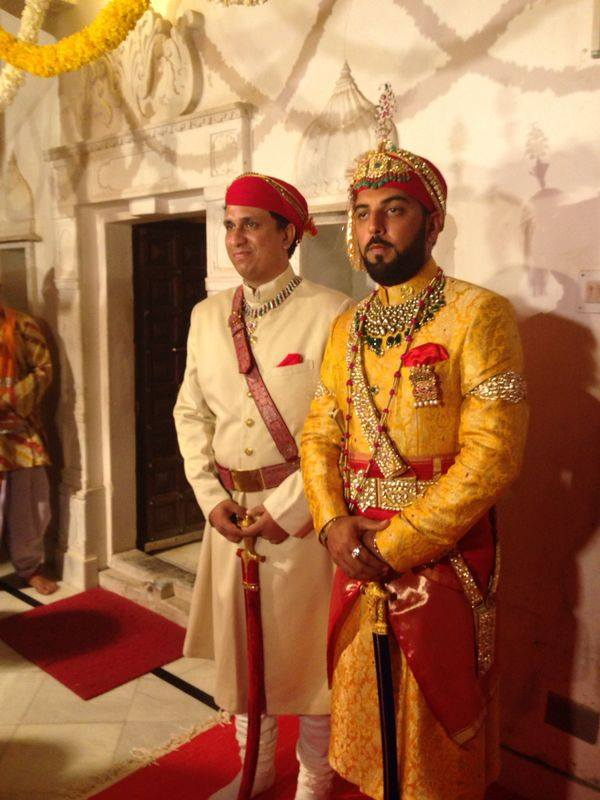 Lakshyaraj Singh Mewar And Maharajkumari Nivritti Kumaris Wedding