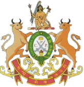 Kawardha Coat of Arms