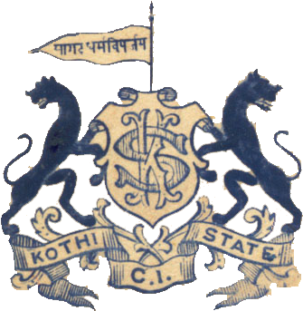 Kothi Princely State Homepage With Pictures And Map