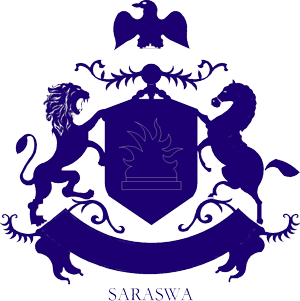 Saraswa Coat of Arms