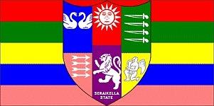 Seraikella (Princely State) flag